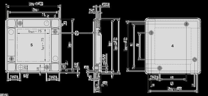 托盘结构图